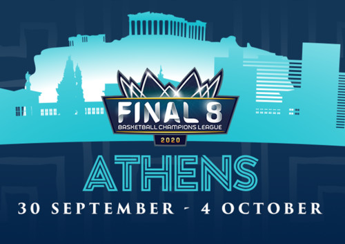 Финал восьми баскетбольной Лиги чемпионов пройдет в Афинах