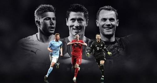 УЕФА объявила трех претендентов на звание Игрока сезона