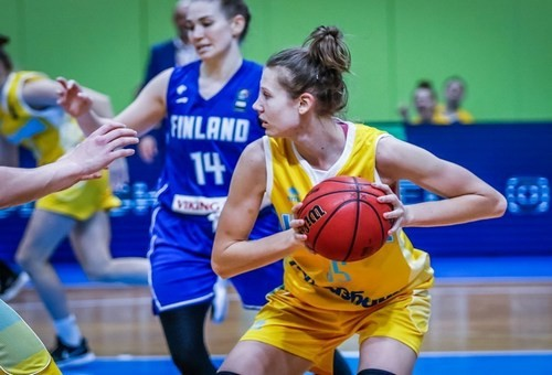 Баскетболистка сборной Украины: «Будем играть с максимальной самоотдачей»